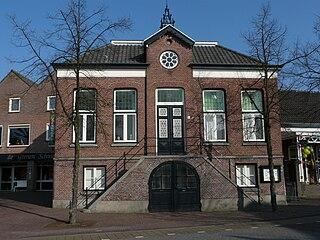 Beek en Donk Town in North Brabant, Netherlands