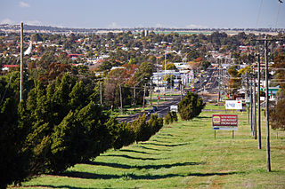Dubbo City in New South Wales, Australia