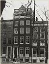 overzicht gevel grachtenhuis met balustrade en ornament - amsterdam - 20322173 - rce