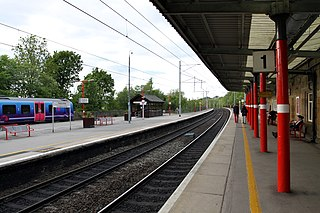 Oxenholme Lake District railway station Railway station in Cumbria, England
