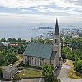 Päätytornillinen Hangon kirkko.jpg