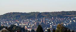 Ansicht von Püttlingen, Saarland
