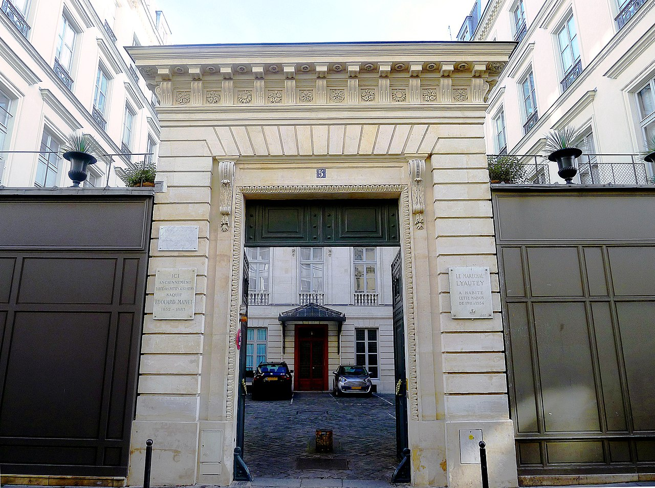 File p1070498 paris vi rue bonaparte n 5 rwk jpg wikimedia commons - Rue bonaparte paris 6 ...