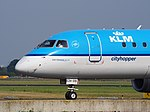 PH-EZH Embraer ERJ-190STD KLM cittyhopper taxiing, 25august2013 pic-2.JPG