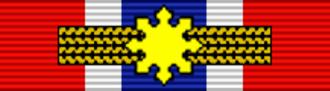 Jaime Sin - Image: PHL Legion of Honor Chief Commander BAR