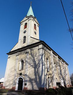 Lutheran church in Drogomyśl
