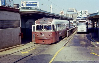 Brilliner - Image: PST Brilliner 5 at 69th Street Terminal in 1968