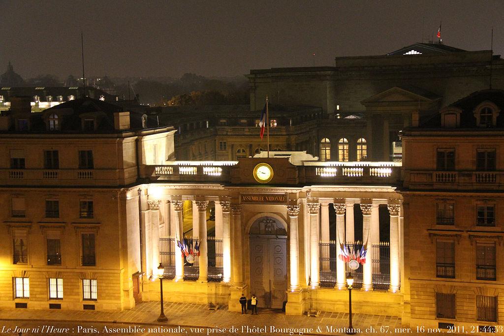File palais bourbon vue prise de la chambre 67 h tel for Chambre agriculture bourgogne