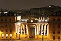 Palais Bourbon, vue prise de la chambre 67, hôtel Bourgogne et Montana, 16 novembre 2011.jpg