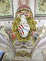 Palazzo corsini, appartamenti estivi, salone, stemma corsini-rinuccini.JPG