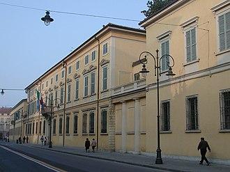 Province of Reggio Emilia - Ducal Palace in Reggio Emilia, the provincial seat