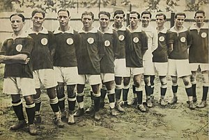 Sociedade Esportiva Palmeiras - Photo of Palestra Italia State Champion in 1920