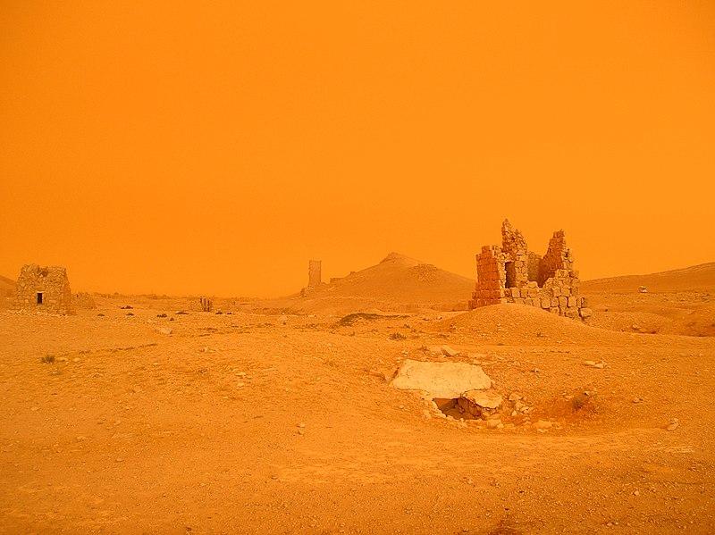 Palmyra sandstorm - panoramio.jpg