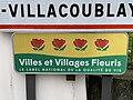 Panneau Villes Villages Fleuris Rue Petit Clamart - Vélizy-Villacoublay (FR78) - 2021-01-03 - 1.jpg