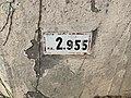 Panonceau PK 2,955 Route N79 Route Madeleine Replonges 1.jpg