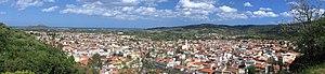 Siniscola - view of Siniscola