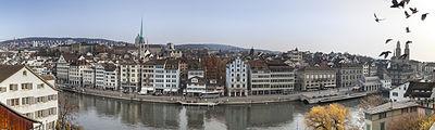 Panorama of Zurich from Lindenhof hill.jpg
