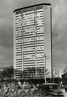 Grattacielo Pirelli, Milano. Foto di Paolo Monti, 1965.