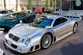 Delightful Mercedes Benz CLK GTR Straßen Version