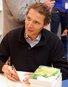 Paris - Salon du livre 2013 - Laurent Gounelle 002.jpg