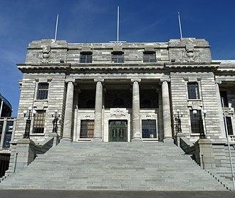 Parliament House, Wellington - Image: Parliament House, Wellington, New Zealand (81)