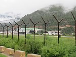 Paro Airport from outside the fence, July 2016 06.jpg