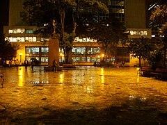 Parque Santander noche 2