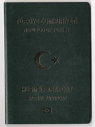 Turkish passport - Image: Pasaport 2 001