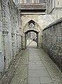 Passageway into the cloister garth. - geograph.org.uk - 671319.jpg