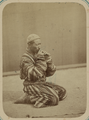 Pastimes of Central Asians. Musicians. A Man Playing a Surnay, a Small Flute-like Instrument WDL10822.png