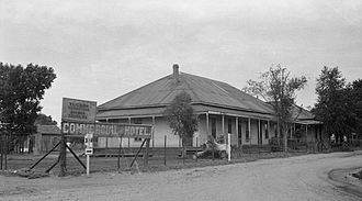 Patagonia, Arizona - Patagonia's Commercial Hotel in 1937.