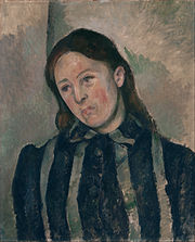 Paul Cézanne, French - Portrait of Madame Cézanne - Google Art Project.jpg
