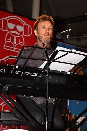 Paul Gray (songwriter) - Paul Gray at Warringah Mall, Sydney, Australia, in July 2012