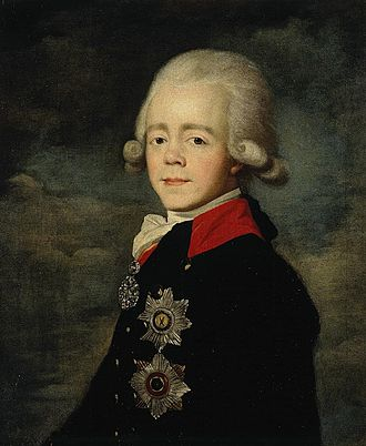 Paul I of Russia - Paul I in the early 1790s