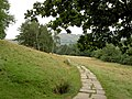 Paved footpath from Grindsbrook - geograph.org.uk - 941028.jpg