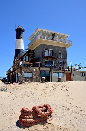 Walvis Bay - Pelican Point, Lighthouse and Lodge (2014)