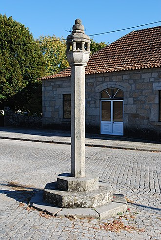 Nelas - The pillory of Vilar Seco, marking the early creation of local authority within the parishes of Nelas