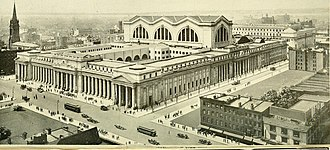 Baths of Caracalla - The original Pennsylvania Station, New York City (1916)