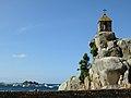 Penvénan, Wachhäuschen auf dem Rocher de la Sentinelle.jpg