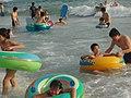 People playing near the Nanwan beach.jpg