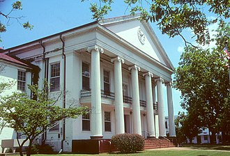 Marion Courthouse Square Historic District - The Perry County Courthouse