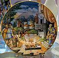 Pesaro (forse), piatto con toro di perillo e falaride, 1550 ca..JPG