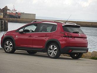 Peugeot 2008 - Image: Peugeot 2008 (2016 facelift) (2)
