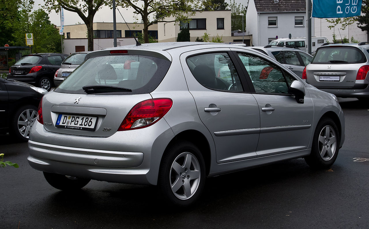 file peugeot 207 75 forever facelift heckansicht 5 mai 2012 wikimedia commons. Black Bedroom Furniture Sets. Home Design Ideas