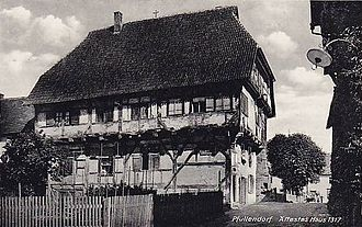 Pfullendorf -  The 700-year-old house
