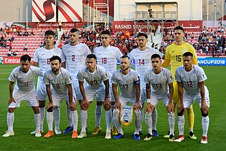 Philippines national football team - The Philippine national team at the 2019 AFC Asian Cup
