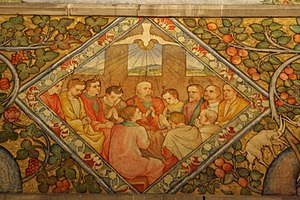 Phoebe Traquair Murals at Mansfield Traquair Centre