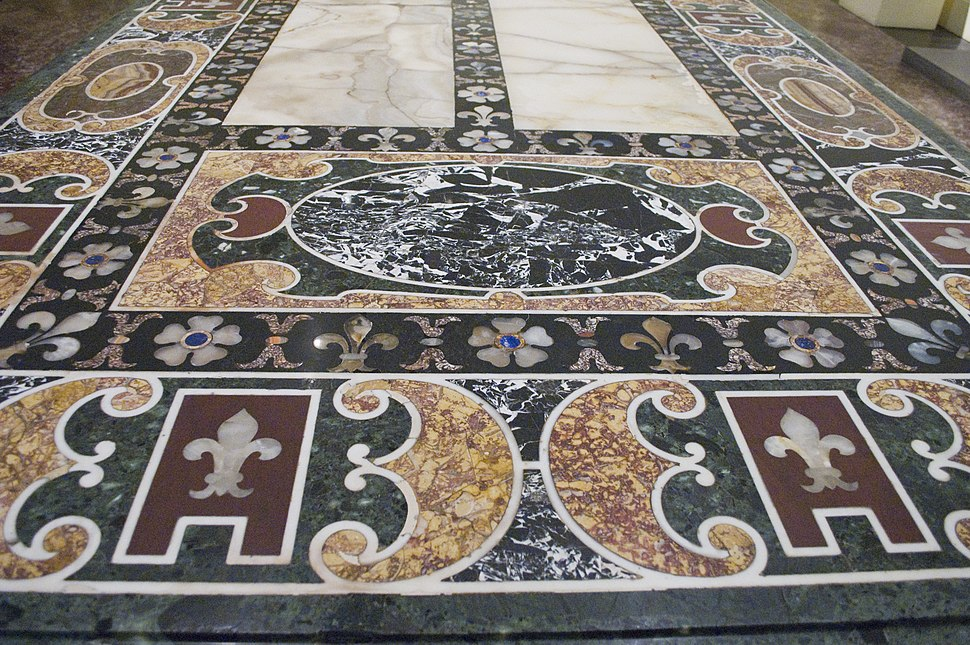 Photograph of an Inlaid Table in the Metropolitan—New York City