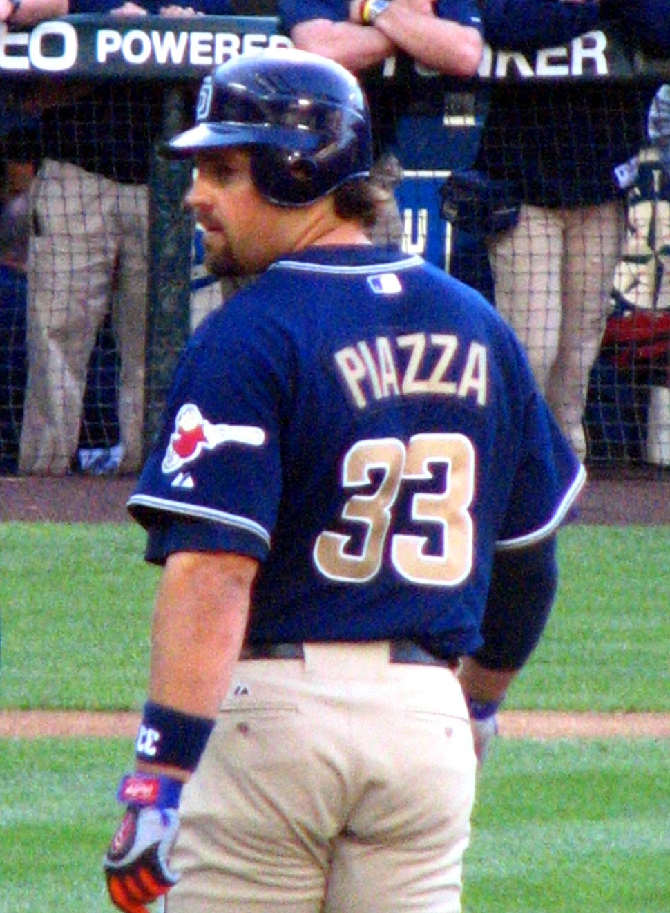 Piazza on 1st (future hall of famer)