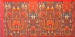 Cambodian art - Image: Pidan textile